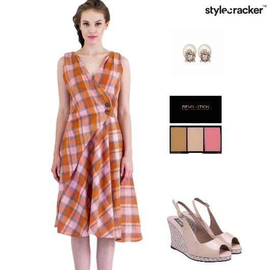 Dress Brunch Casual Wedges  - StyleCracker
