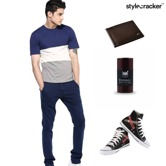 Tshirt Casual Sneakers  - StyleCracker