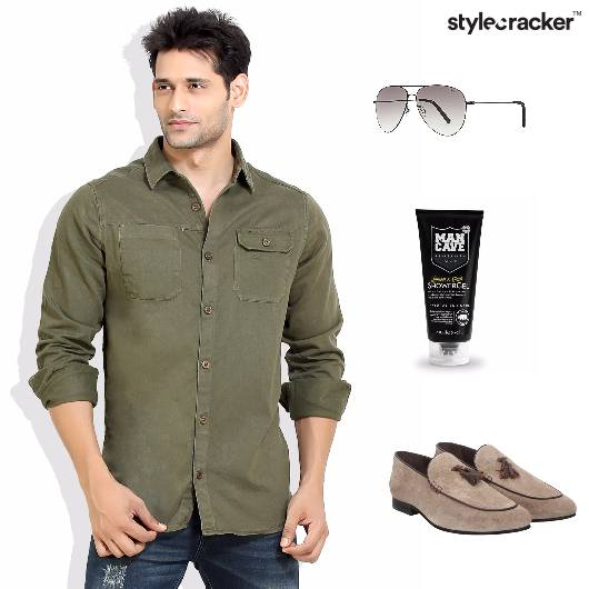 Olive Casual Brunch Casual  - StyleCracker