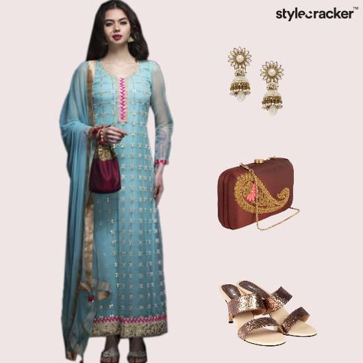 Indianwear Festive Jhumki  - StyleCracker