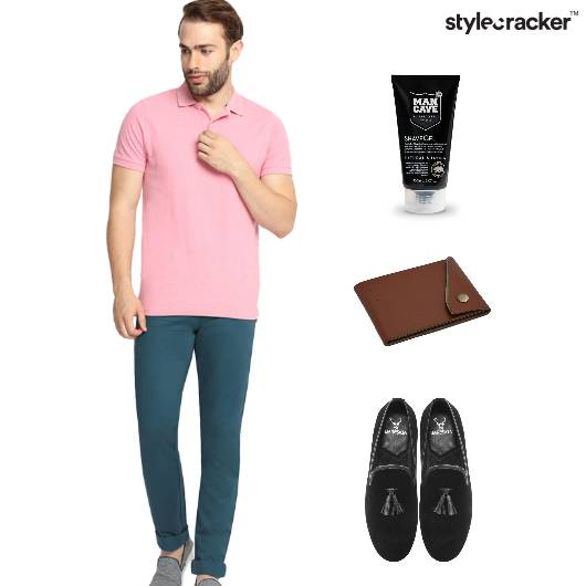 Pink Casual Basics Tshirt  - StyleCracker