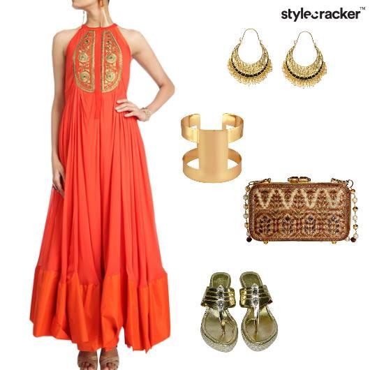 Suit Clutch Cuff Chanbali Indian Ethnic - StyleCracker