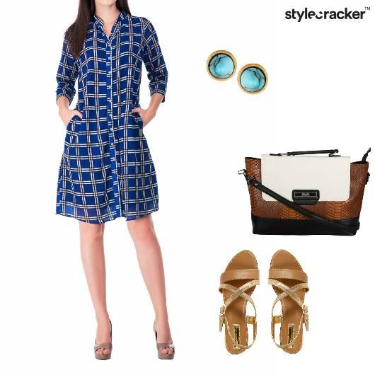 Dress Flats Bag Satchel Casual - StyleCracker