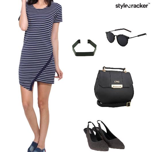 Dress Slingbacks Slingbag Bracelet Casual - StyleCracker