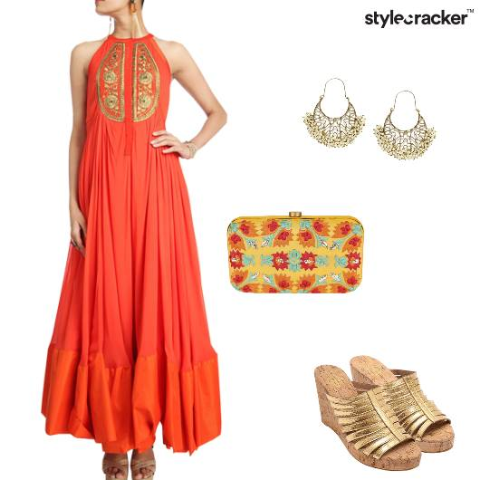 Indian Bright Festive Embroidered - StyleCracker