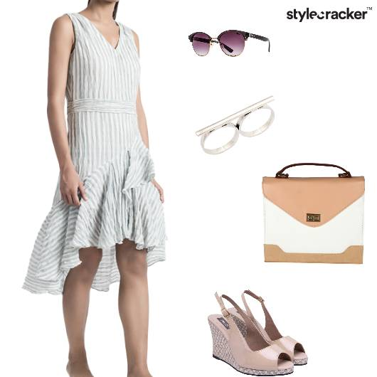 Dress Slingbacks Satchel Ring Casual - StyleCracker