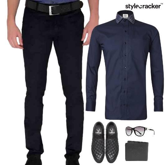 Crisp Shirt Chinos Pants SlipOn  - StyleCracker