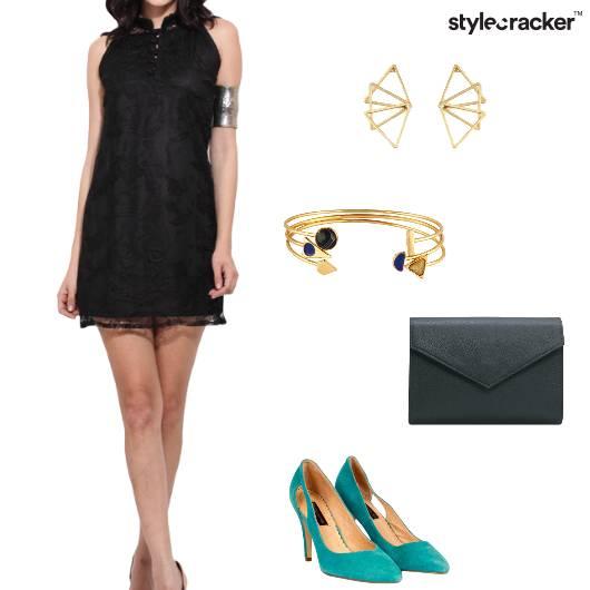 Dress Pumps EnvelopeClutch Party - StyleCracker