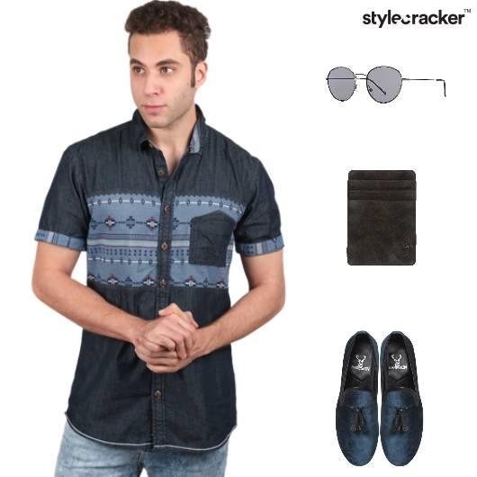 Brunch Denim SlipOns  CardHolder Sunglasses - StyleCracker