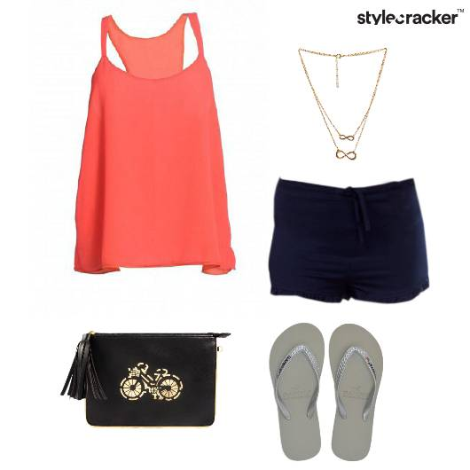 TankTop Shorts Casual Shopping - StyleCracker