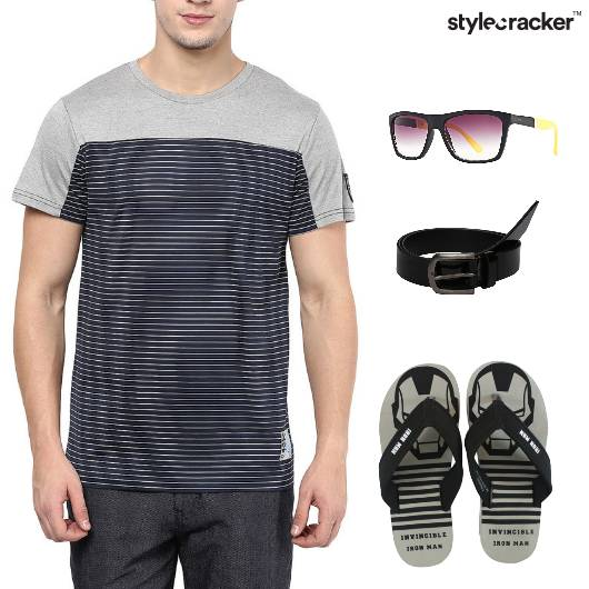 Tshirt Casual shorts Outdoor - StyleCracker