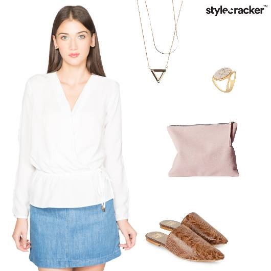 Mules WrapTop Casual Lunch  - StyleCracker