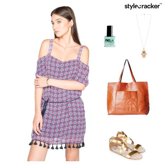Casual Chic Dress ToteBag Necklace - StyleCracker
