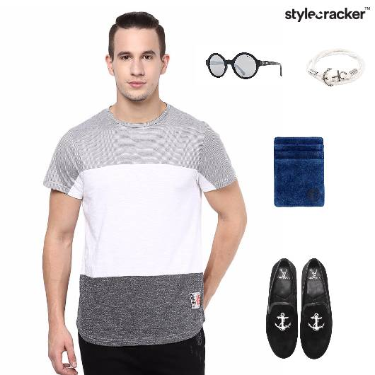 Casual T-Shirt SlipOns CardHolder Accessories Sunglasses - StyleCracker