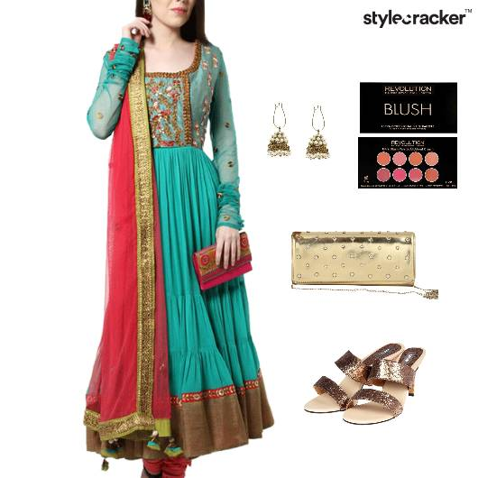 Indian Festive Wedding Bridal HiShine - StyleCracker