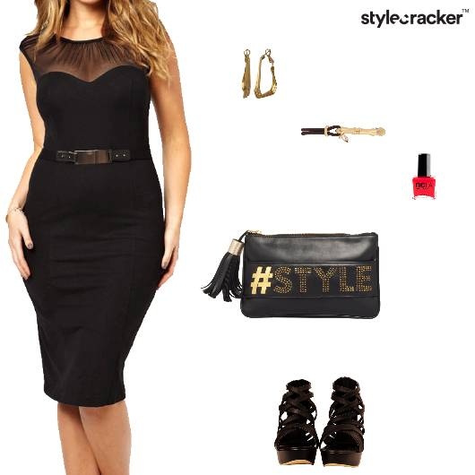 LBD Party Dress Heels - StyleCracker