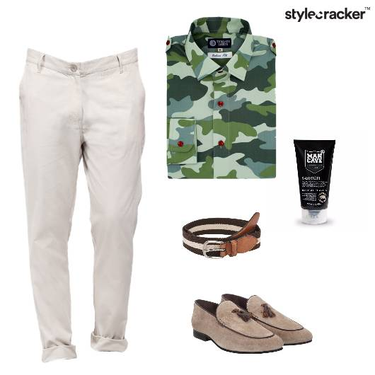 Camouflage Casual Loafers  - StyleCracker