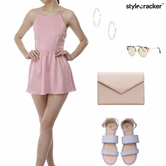 Pastel Dress Brunch Neutral  - StyleCracker