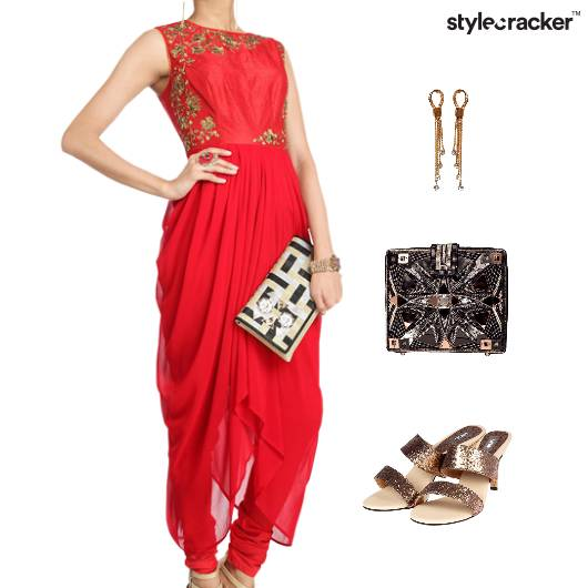 Indian Festive Ethnic Wedding Clutch - StyleCracker