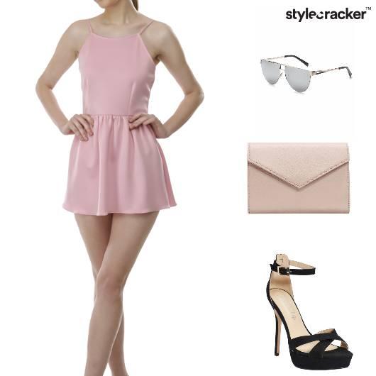 Pastel Stilettos DayOut Dress - StyleCracker