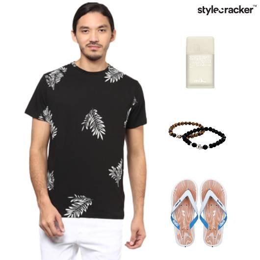 Tshirt  Printed Casual Vaccation - StyleCracker