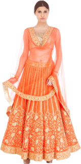 Tamanna Punjabi Kapoor - Anarkali with Gold Kasab Work - StyleCracker