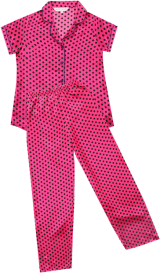 PrettySecrets Princess Pretty In Pink All Day Lounge Top & PJ Set - StyleCracker