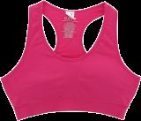 PrettySecrets Flirty Fuchsia Dreamy Fit Sports Bra - StyleCracker