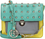 Leather Crossbody Bag-PR1016 - StyleCracker