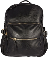 Black Backpack - StyleCracker