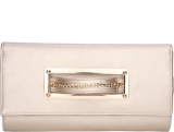 Gold Hand-in Strap Clutch - StyleCracker