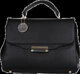Estelle Black Satchel - StyleCracker