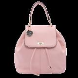 Nude Pink Flaptop Hoodie Backpack - StyleCracker
