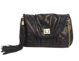 Sling With Tassels Black - StyleCracker
