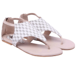 Pattern Weave Sandals - StyleCracker
