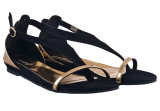 Black Ancient Roman Sandals - StyleCracker