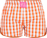 Loco en cabeza Checkered Womens Boxer WLB0020 - StyleCracker