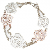 Rose Delight Rose Gold Bracelet - StyleCracker