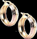 Three In One Hoop Earring - StyleCracker