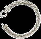 Striking Pleated Chain Bracelet - StyleCracker