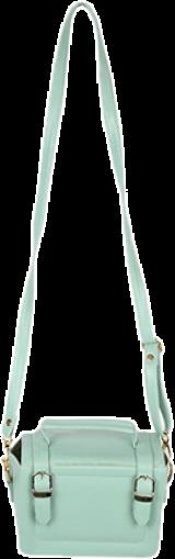 Mint Green Briefcase Sling - StyleCracker