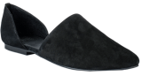 Natalie Black Suede Shoe - StyleCracker