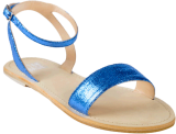 Armida Blue Bling Flat - StyleCracker