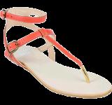 Alisa Coral Flat - StyleCracker
