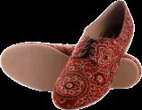 Marron Ajrakh Oxfords - StyleCracker