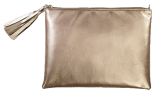 GUNMETAL CLUTCH - StyleCracker