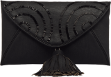 Black Envelop Clutch - StyleCracker