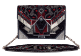 Beaded Clutches - Black Silver - StyleCracker