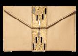 Beige Beaded Clutches - StyleCracker