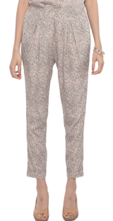 Tribal Print Printed Peg Pants - StyleCracker